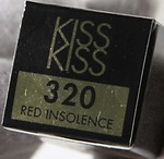 #320 RED INSOLENCE / KISSKISS LIPSTICK