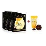 PAPA SKIN 3+1 Black & honey mask