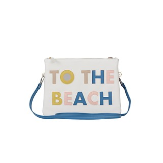 #WHITE / Double Clutch -To the Beach/ On the Road. Size L