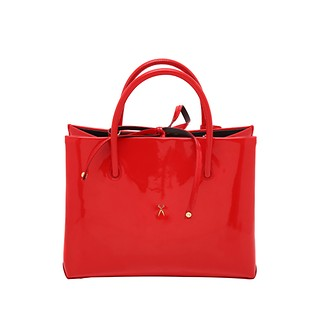 #Lipstick Red / Stacey Tote Medium