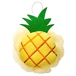 Tropical pineapple shower bowl