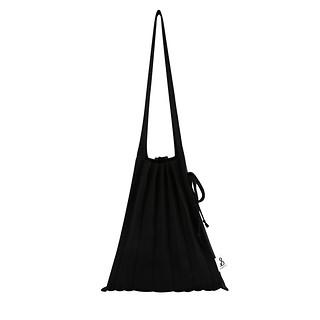 #RICH BLACK / Lucky Pleats Knit M