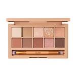 #002 棕色裸妆 / Pro 10色眼影盘