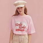 #PINK/(TS-19305) ROLA HEART T-SHIRT F