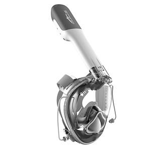프리다이빙 V3 스노쿨링 마스크-화이트 (이산화탄소 역류&혼합방지 기술)