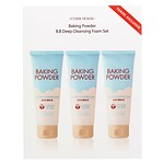 (DUTY-FREE) BAKING POWDER B.B DEEP CLEANSING FOAM 3-PIECE