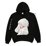 #BLACK / BABY FACE HOODIE BLACK SNOW / 1