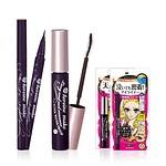睫毛膏+眼线笔套装 Long&Curl Mascara SWP + smooth liquid eyeliner SUPER KEEP BLACK