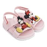 #PINK&WHITE / 19FW 32622 Mini Melissa Cosmic Sandal + Disney Twins Bb PN 009