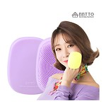 BBTTO SILICON CLEANSING BRUSH(LAVENDER)