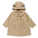 #BE / CHARACTER HOOD TRENCH JUMPER 110