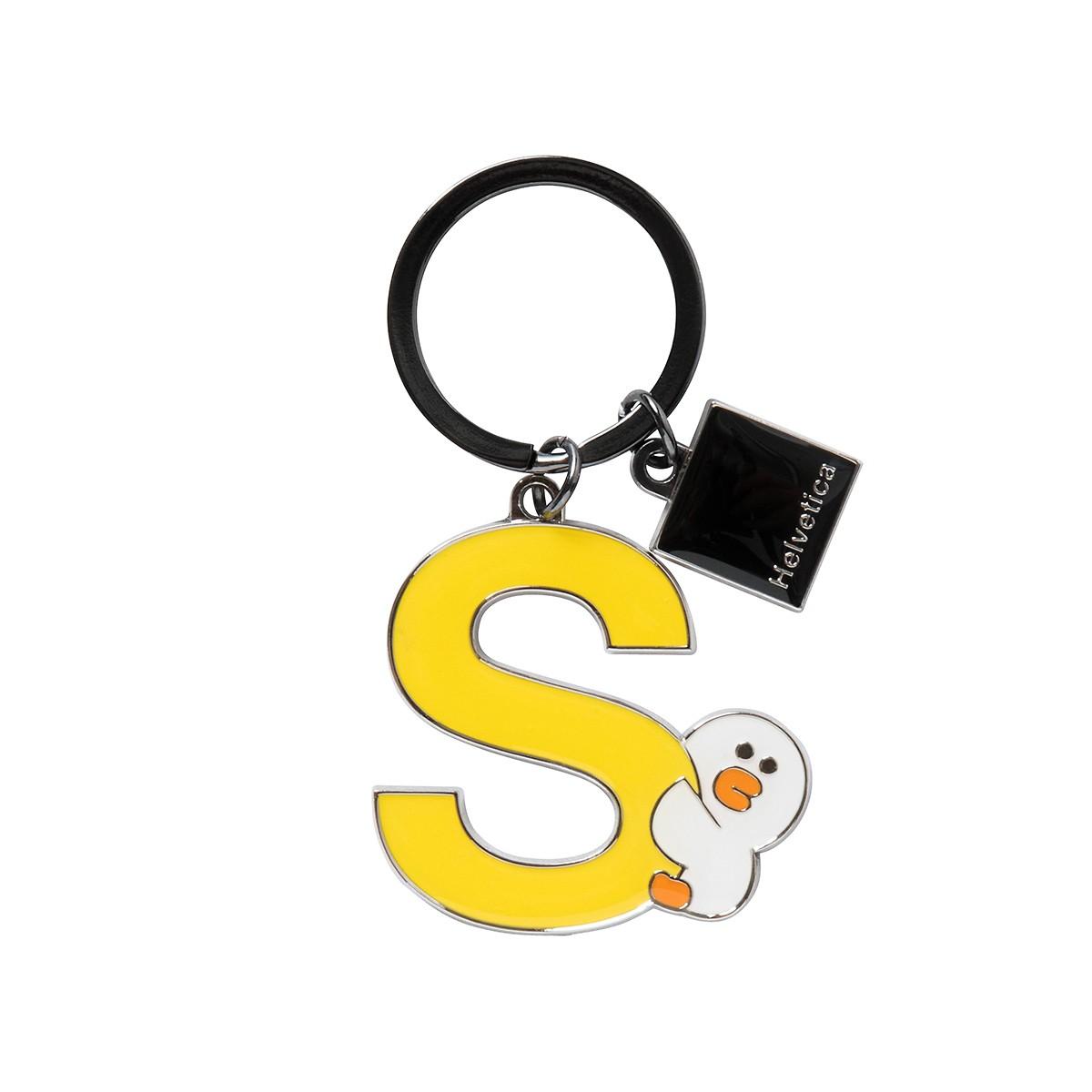 SALLY HELVETICA金属钥匙链