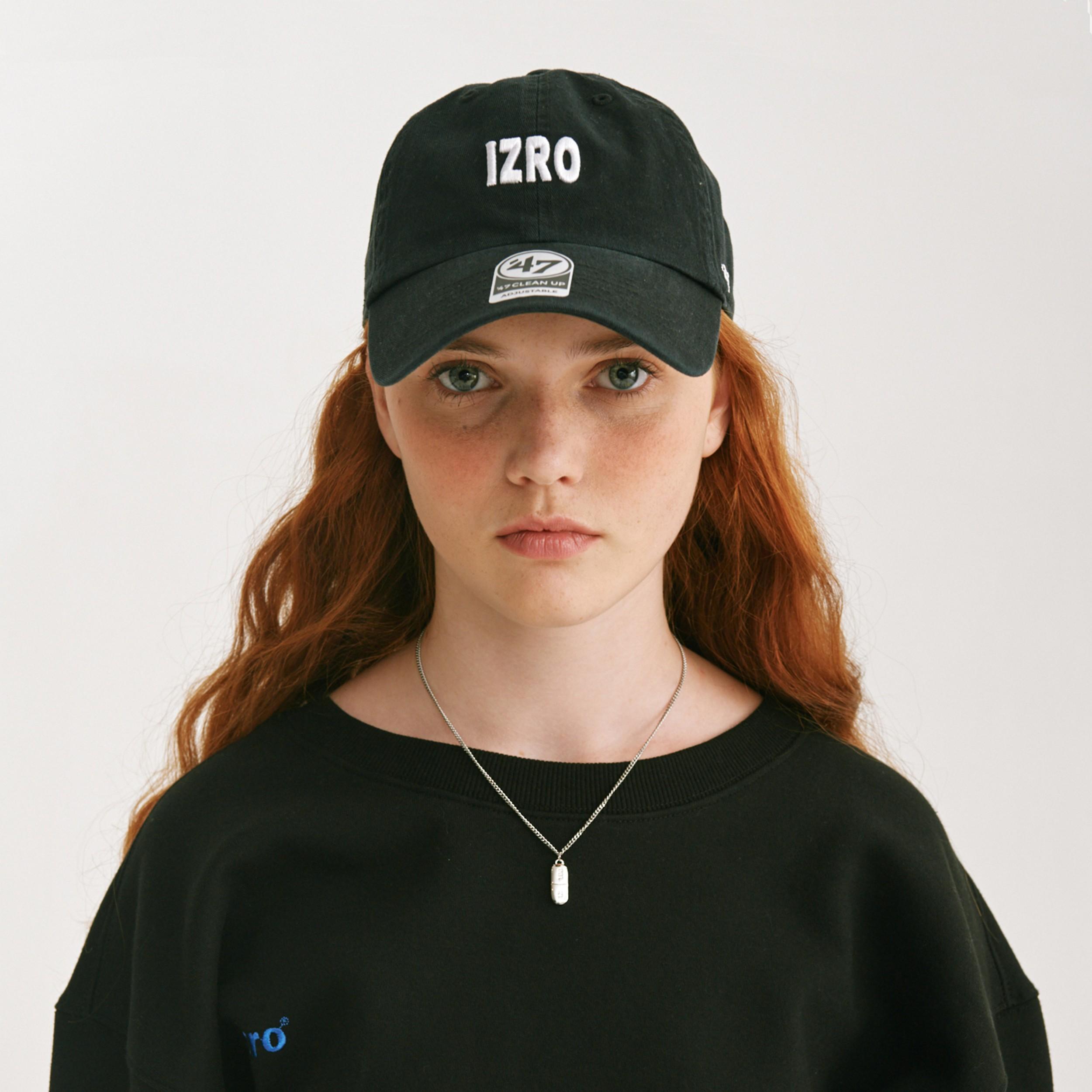 #BLACK / IZRO X 47BRAND CAP