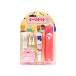 KAKAO ELECTRIC TOOTHBRUSH SET APEACH