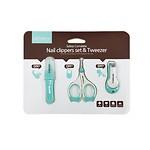 3-piece set of newborn baby tweezers