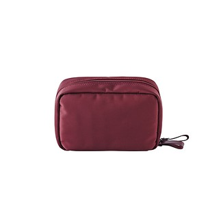 #Burgundy / DAY MAKE-UP POUCH