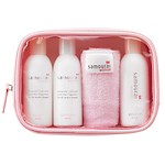 Travel Kit:Shampoo 40ml, Treatment 40ml,BodyWash 40ml &Towel