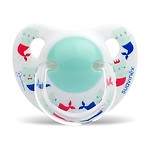 #White / silicone SOOTHER MERMAID (+6m)