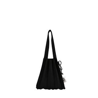 #STARRY BLACK / Lucky Pleats Knit S Bling
