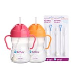 SIPPY CUP BEST SET (pink+mango)(6 Months and Older)