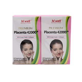 PREMIUM PLACENTA(SHEEP PLACENTA) 42000+ 60capsules*2