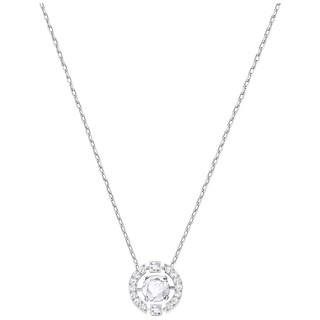 [5286137] SPARKLING DC:NECKLACE CZWH/CRY/RHS