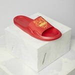 #MEDIUM RED / POOL SANDAL_MEN 42