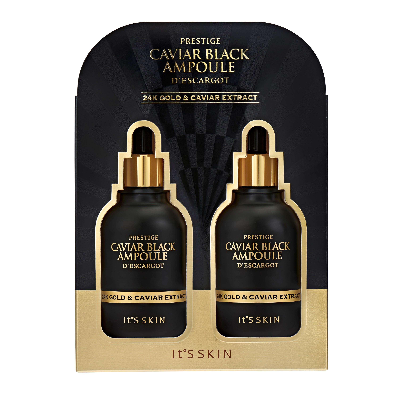 CAVIAR BLACK AMPOULE DESCARGOT 100 ml * 2EA