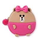 BF_CHOCO_19 PONGPONG_COIN PURSE_BR