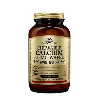츄어블 칼슘 500mg (120정/4개월)