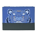 #FRENCH BLUE / BICOLOR TIGER A4 POUCH_MEN