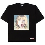 #BLACK / BABY FACE SHORT SLEEVE T-SHIRT BLACK GEMSTONE TEARS / 1