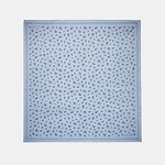 Allover Meadow Prairie Oversized Square 54x54 MIST