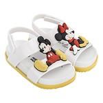 #WHITE&YELLOW / 19FW 32622 Mini Melissa Cosmic Sandal + Disney Twins Bb WT