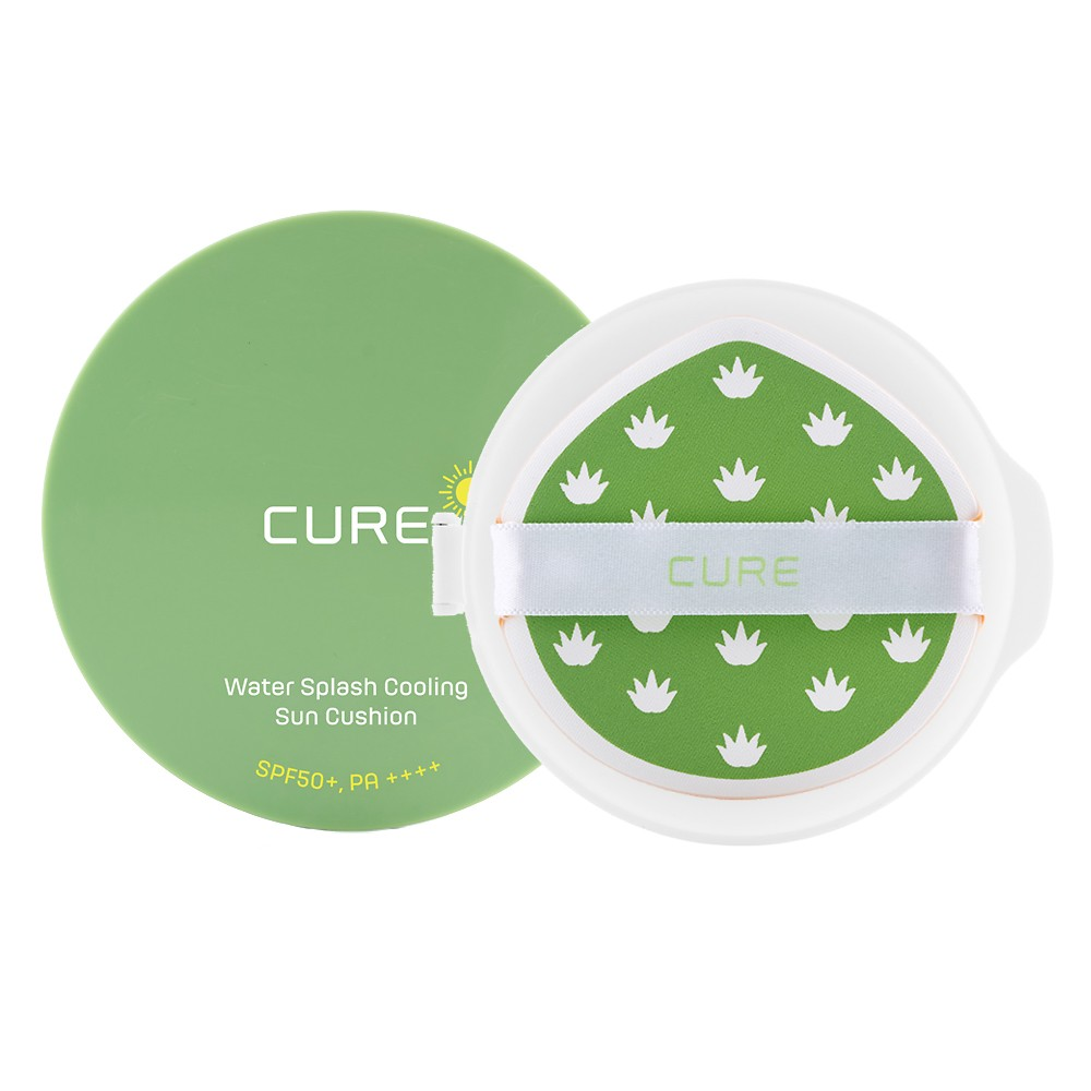 [THE SHILLA EXCLUSIVE] CURE WATER SPLASH COOLING SUN CUSHION 25G + REFILL 25G SET