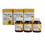 ROYAL JELLY SOFT GEL CAPSULES 60 CAPSULES 3BOTTLES