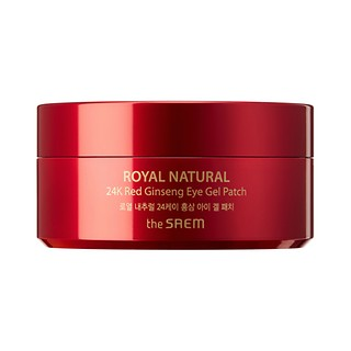 ROYAL NATURAL 24K RED GINSENG EYE GEL PATCH 60SHEETS