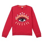 #CHERRY / CLASSIC EYE SWEATSHIRT_WOMEN L (050816005800)
