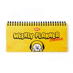 BT21 CHIMMY SWEET WEEKLY PLANNER(Purchasable from 2 or more quantities/Displayed price is for 1 quantity)