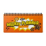 BT21 SHOOKY SWEET WEEKLY PLANNER(Purchasable from 2 or more quantities/Displayed price is for 1 quantity)
