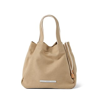 #SAND / CLOVER TOTE 750 CANVAS