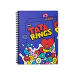 BT21 TATA SWEET A5 SPRING NOTEBOOK (Purchasable from 2 or more quantities/Displayed price is for 1 quantity)