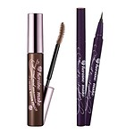 #BROWN / LONG & CURL SWP + #BLACK / SUPER KEEP EYELINER SET