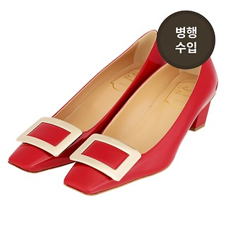 #ROUGE TERRE / BELLE VIVIER PUMPS IN PATENT LEATHER_38.5