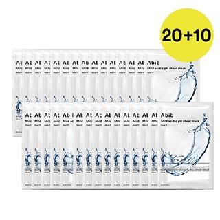 약산성 pH 시트마스크 아쿠아핏 20EA