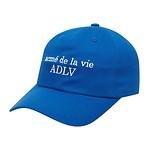 #BLUE / BASIC LOGO BALL CAP