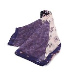 Glam Rock Patchwork Oversized Square 54x54 Dusty Lavender