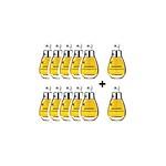 RENEWAL BIG 3 STEP WHITENING MASK PACK 10+2