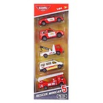 MINI CAR 5 PIECES (FIREFIGHTING)
