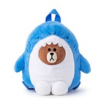 BF SHARK BROWN KIDS' DOLL BACKPACK